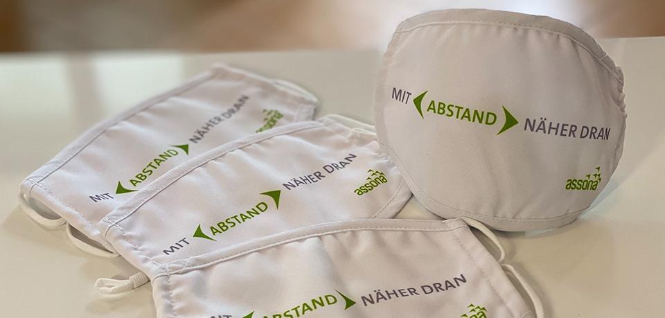 Corona-Krise: assona unterstützt Fachhändler mit Textil-Schutzmasken