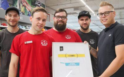 RADhaus Lichterfelde gewinnt Team-Event im Wert von 2.500 Euro