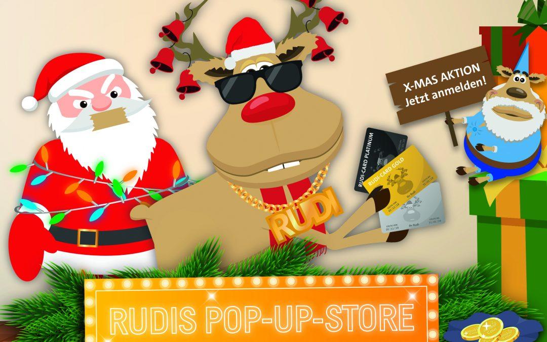Rudi eröffnet seinen ersten Pop-up-Store