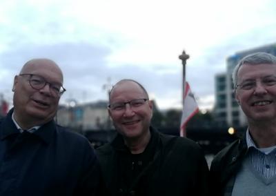 assona-Sommerfest 2021 | Unsere drei Geschäftsführer Uwe, Thomas und Arnd