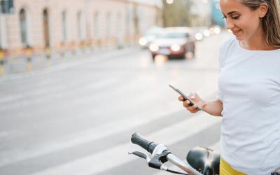 Fahrrad und Smartphone – ein Dream-Team