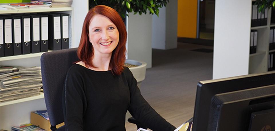 Mandy aus der assona-Unternehmenskommunikation